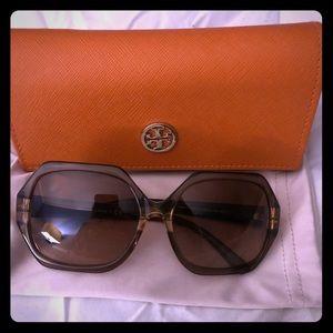 Tory Burch TY7051 DK Brown Ladies Sunglasses